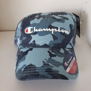 NEED GONE Champion Hat Blue Camo NWT Unisex